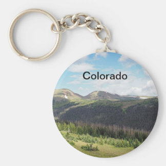 rocky mountains in Colorado Key Ring