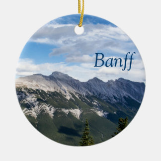 Rocky Mountains ornament - Banff