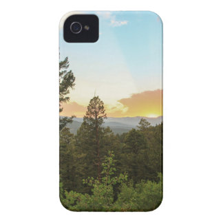 Rocky Mountains Sunset iPhone 4 Cover