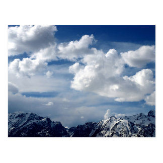 Rocky Mountains, Wyoming Postcard