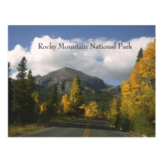Rocky Mountiain National Park Postcard
