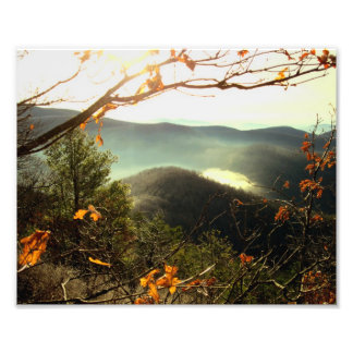 Rocky Mtn. Appalachian Trail, Georgia Photo Print