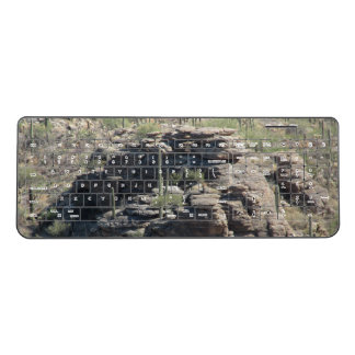 Rocky Outcropping in Tucson Wireless Keyboard