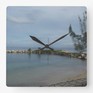 Rocky Pier in Jamaica Clock