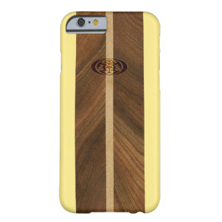 Rocky Point Hawaiian Faux Wood Surfboard Barely There iPhone 6 Case