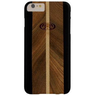 Rocky Point Hawaiian Faux Wood Surfboard Barely There iPhone 6 Plus Case