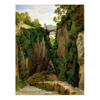 Rocky Ravine at Sorrento, 1823 Postcard