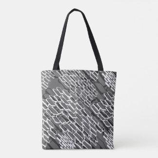 Rocky Road Angle-Gray Tote Bag