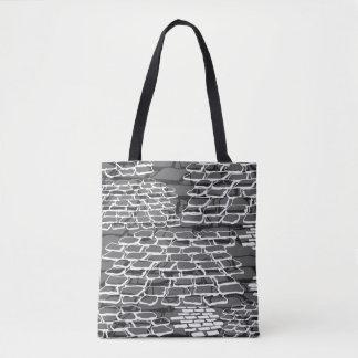 Rocky Road-Gray Tote Bag