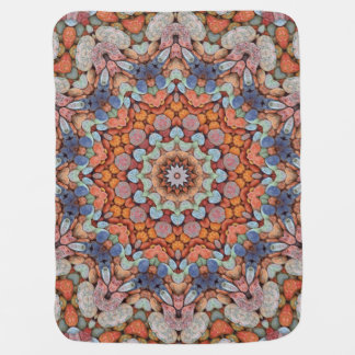 Rocky Roads Colorful Baby Blankets Buggy Blanket