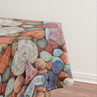 Rocky Roads  Colorful Cotton Tablecloth
