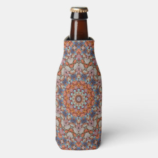Rocky Roads Colorful Kaleidoscope  Bottle Cooler