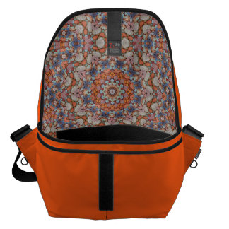 Rocky Roads  Colorful  Kaleidoscope Courier Bags