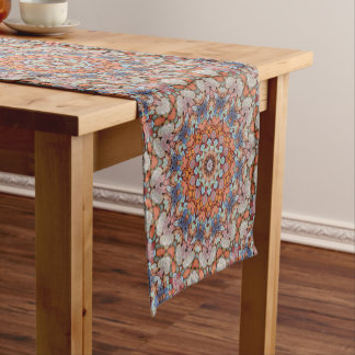 Rocky Roads   Kaleidoscope Colorful Table Runner