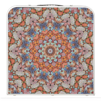 "Rocky Roads  Vintage Kaleidoscope  48""  Pong Table"