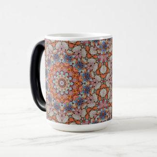 Rocky Roads Vintage Kaleidoscope Morphing Mug