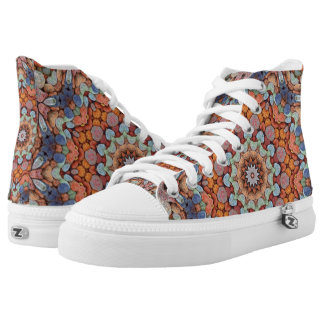 Rocky Roads Zipz High Top Shoes Printed Shoes