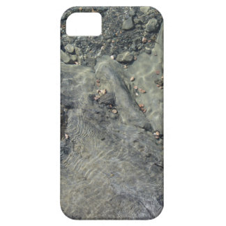 Rocky seabed through transparent sea water case for the iPhone 5