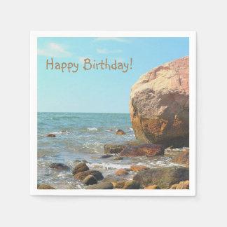 Rocky Seashore Paper Napkins