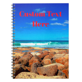 Rocky Seaside Notebooks