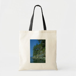 Rocky Shore Tote Bags