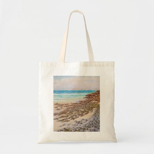 Rocky shore, St. Ives, Cornwall Bags