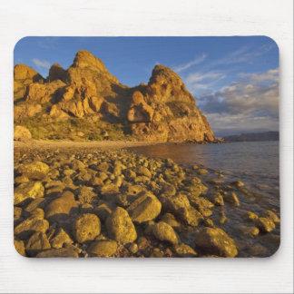 Rocky shoreline on Isla Carmen in the Gulf of Mouse Pad