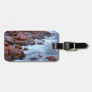 Rocky shoreline with water, Canada Luggage Tag