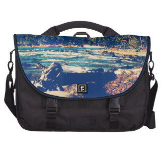 Rocky Shores of Lake Superior Bag For Laptop