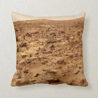 Rocky Surface of Planet Mars Cushion
