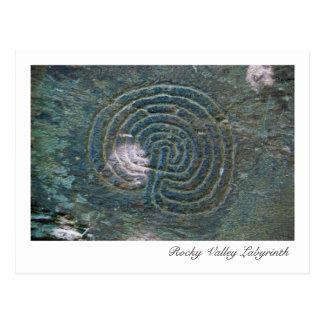 Rocky Valley Labyrinth Postcard