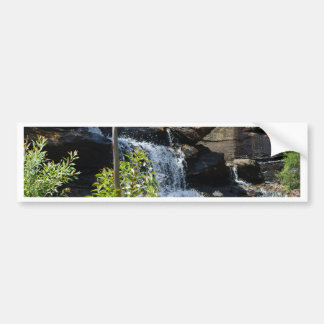 Rocky Waterfall Bumper Sticker
