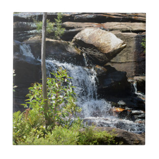 Rocky Waterfall Ceramic Tile