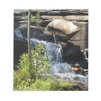 Rocky Waterfall Notepad