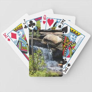Rocky Waterfall Poker Deck