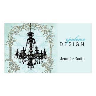 Rococo Chandelier Business Card