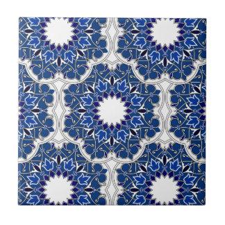 Rococo Indigo Beautiful Ceramic Tile