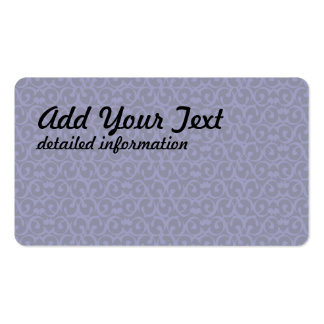 Rococo lilac pack of standard business cards