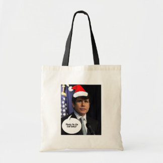 Rod Blagojevich Christmas Canvas Bag