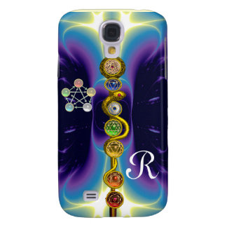 ROD OF ASCLEPIUS 7 CHAKRAS,YOGA ,SPIRITUAL ENERGY SAMSUNG GALAXY S4 COVERS