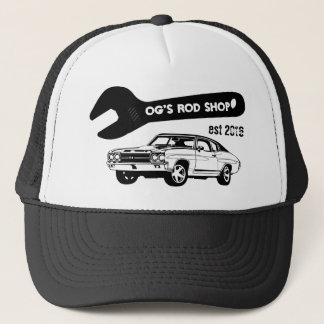 rod shop trucker hat