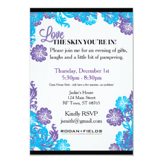 Rodan + Fields Invitation Template