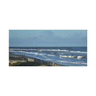Rodanthe Fishing Pier Canvas Print