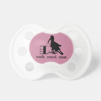 Rodeo Baby Cowgirl Barrel Racer Pacifier