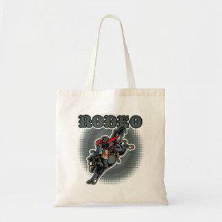 Rodeo Bareback Bronc Rider Tote Bag