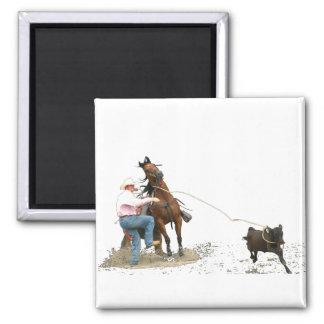 Rodeo - Calf Tying; Calf Roping Magnet