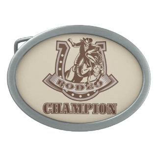 Rodeo Champion Belt Buckle