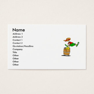 Rodeo Clown Business Card