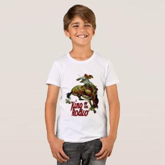 Rodeo Cowboy Bucking Horse King Of Rodeo T-Shirt