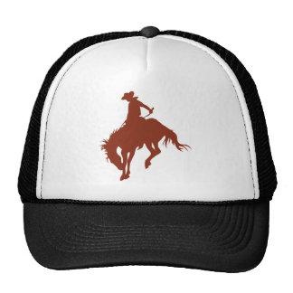 Rodeo Cowboy in Sienna Cap